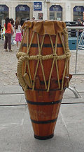 Atabaque Brazilian Drum