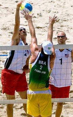 brazil beach volleyball