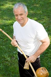Man with Brazil Instrument